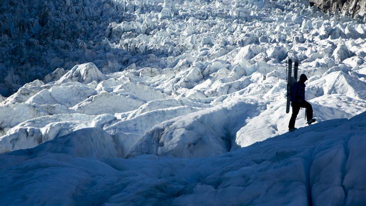 Beau Fredlund explores the glaciers of New Zealand.