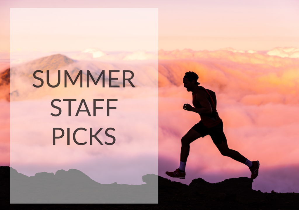 Summer staff picks runner on mountain