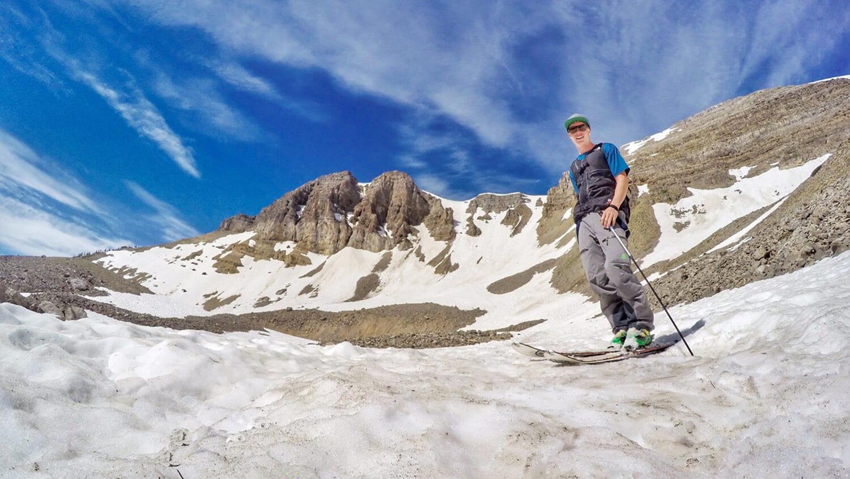 Sawyer Gordon loved to climb mountains.